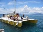 Catamaran Snorkel Cruise from the Four Seasons Nevis