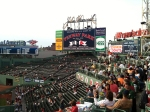 Right Field Roof Deck reserved for a incentive group sales trip