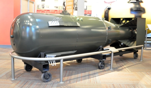 Replica of the first atomic bomb - Los Alamos, New Mexico